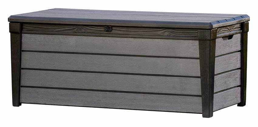 baul exterior madera