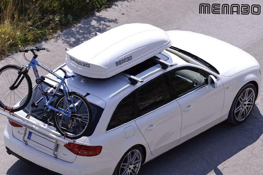 tamaños y formas de portaequipajes para vehículos