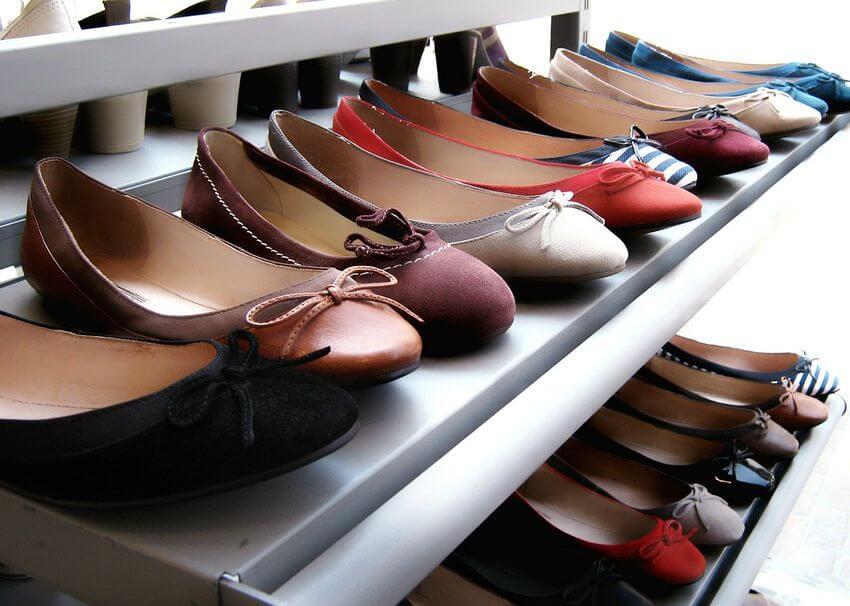como organizo los zapatos