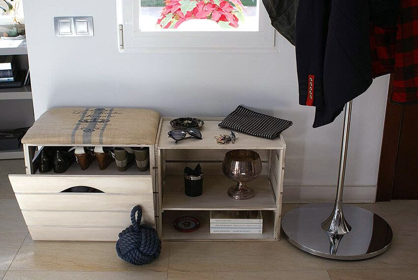 donde guardar el calzado