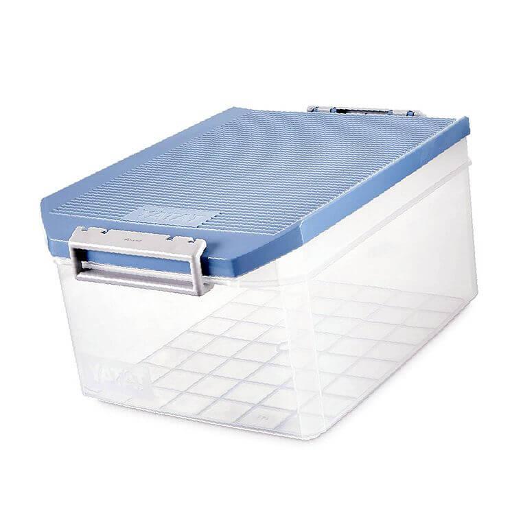 caja plastico ropa
