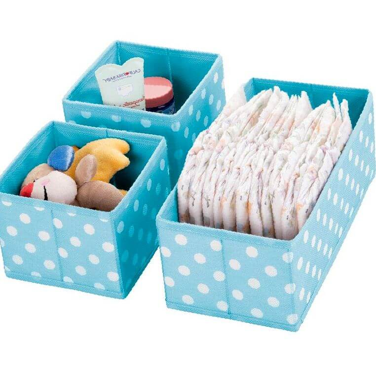 cajas organizadoras bebes